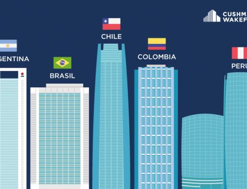 A nivel regional, Buenos Aires es la ciudad que más metros de oficinas tiene proyectados construir en los próximos cinco años