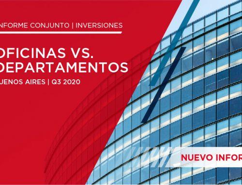 Inversiones: oficinas vs departamentos | Buenos Aires – Q3 2020