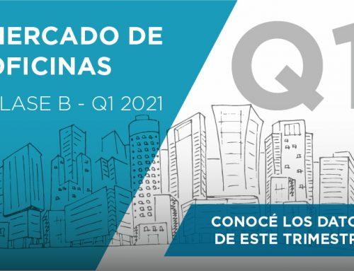 Mercado de Oficinas | Clase B – 1° trimestre 2021