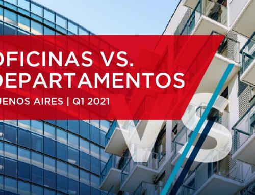 Oficinas vs Departamentos – Buenos Aires   Q1 2021