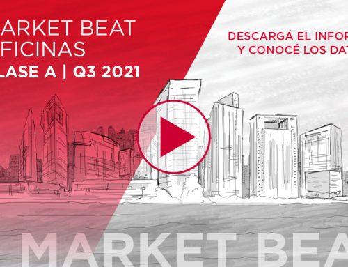 Market Beat de Oficinas   3° trimestre 2021