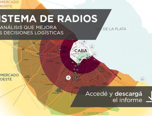 Sistema de radios: el análisis que mejora las decisiones logísticas